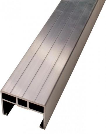 Unterkonstruktion aus Aluminium (40mm x 60mm)