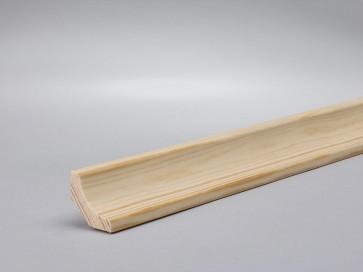 Kiefer Hohlkehlleiste 20 mm x 20 mm Holz