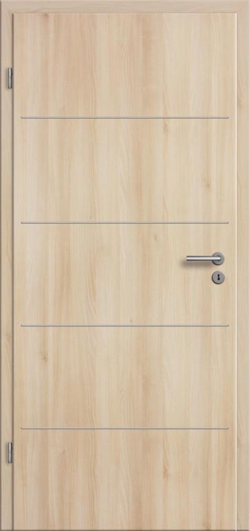 innent ren lisenen cpl mit zarge rundkante g nstig kaufen t renfuxx. Black Bedroom Furniture Sets. Home Design Ideas