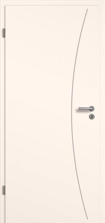 t ren lisenen cpl colour cremewei hochwertige holz optik veredelt mit edelstahlfarbigen. Black Bedroom Furniture Sets. Home Design Ideas