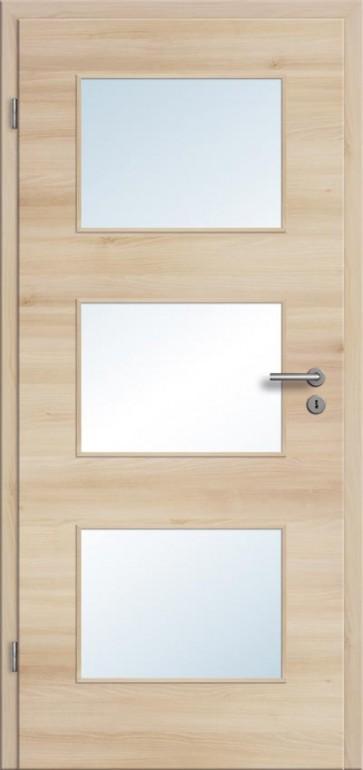 CPL Tür Akazie Lichtausschnitt 003 (Designkante)