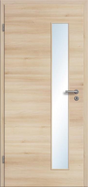 CPL Tür Akazie Lichtausschnitt 008S (Designkante)