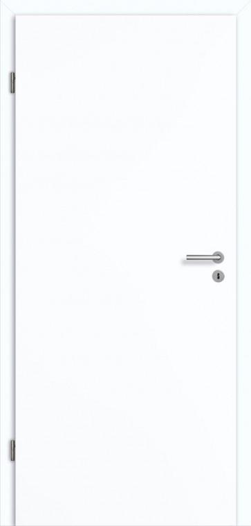 Tür Superweiß mit Zarge (RAL 9003)