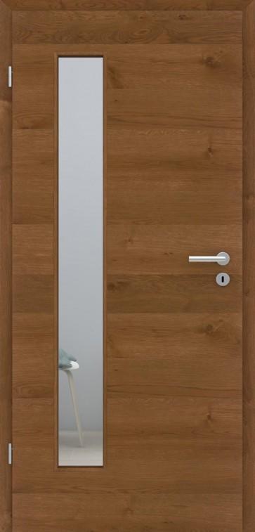 Tür Eiche Astig Natur Bronze | LA008B