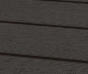 Muster WPC Dielen Massiv Dunkelgrau geprägt (22 mm x 143mm)