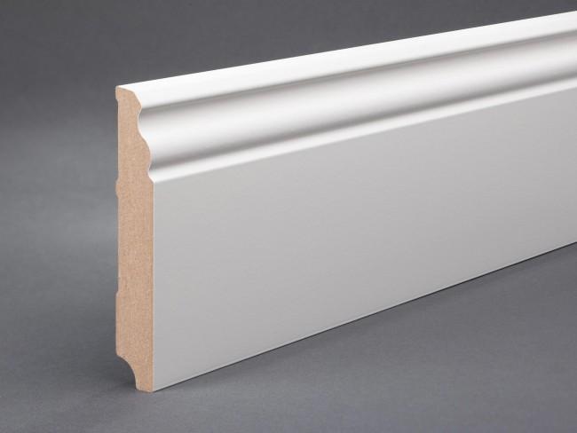 sockelleiste altbau berliner profil mdf wei 150x19mm g nstig kaufen t renfuxx. Black Bedroom Furniture Sets. Home Design Ideas