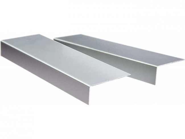 aluminium abschlusswinkel eloxiert f r terrassendielen t renfuxx. Black Bedroom Furniture Sets. Home Design Ideas