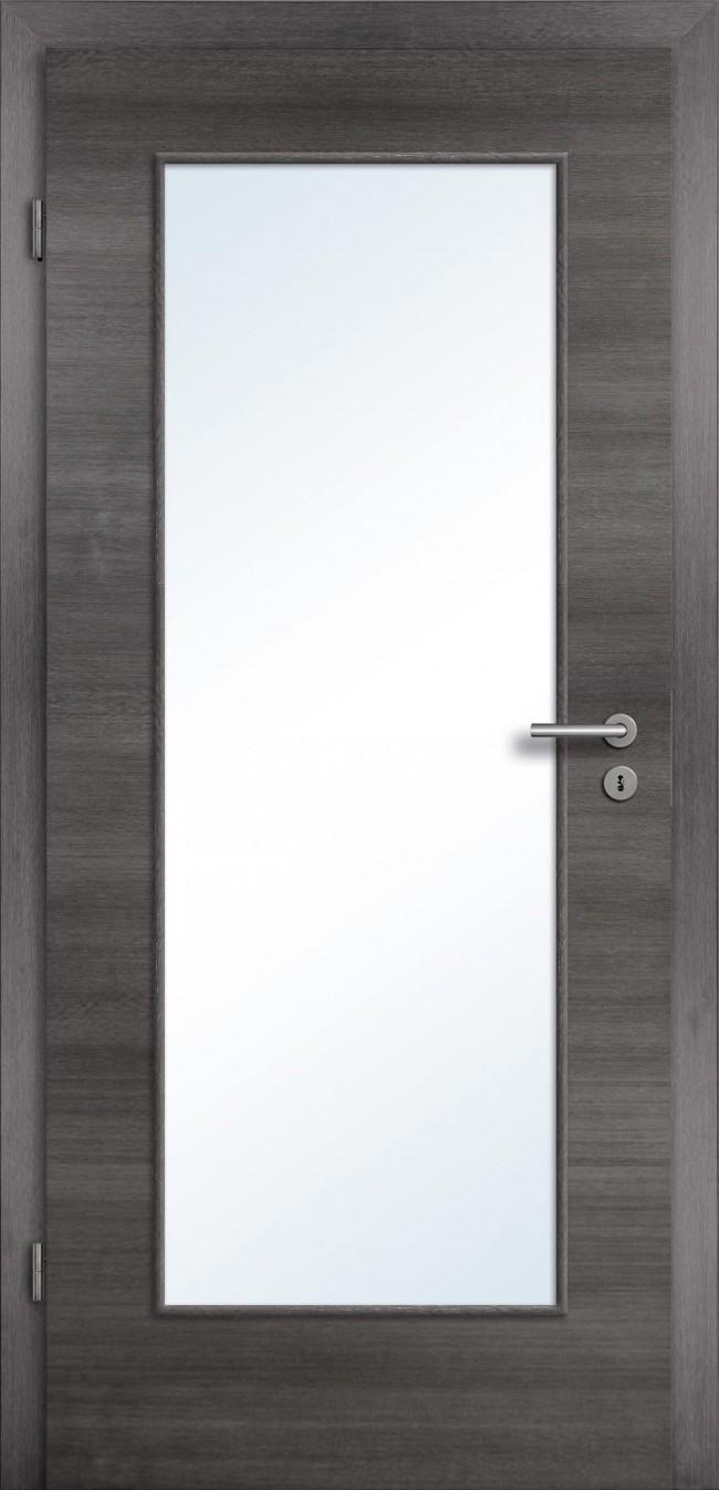 Bekannt Tür mit Glasausschnitt - günstige Türelemente CPL und Zargen kaufen YI23