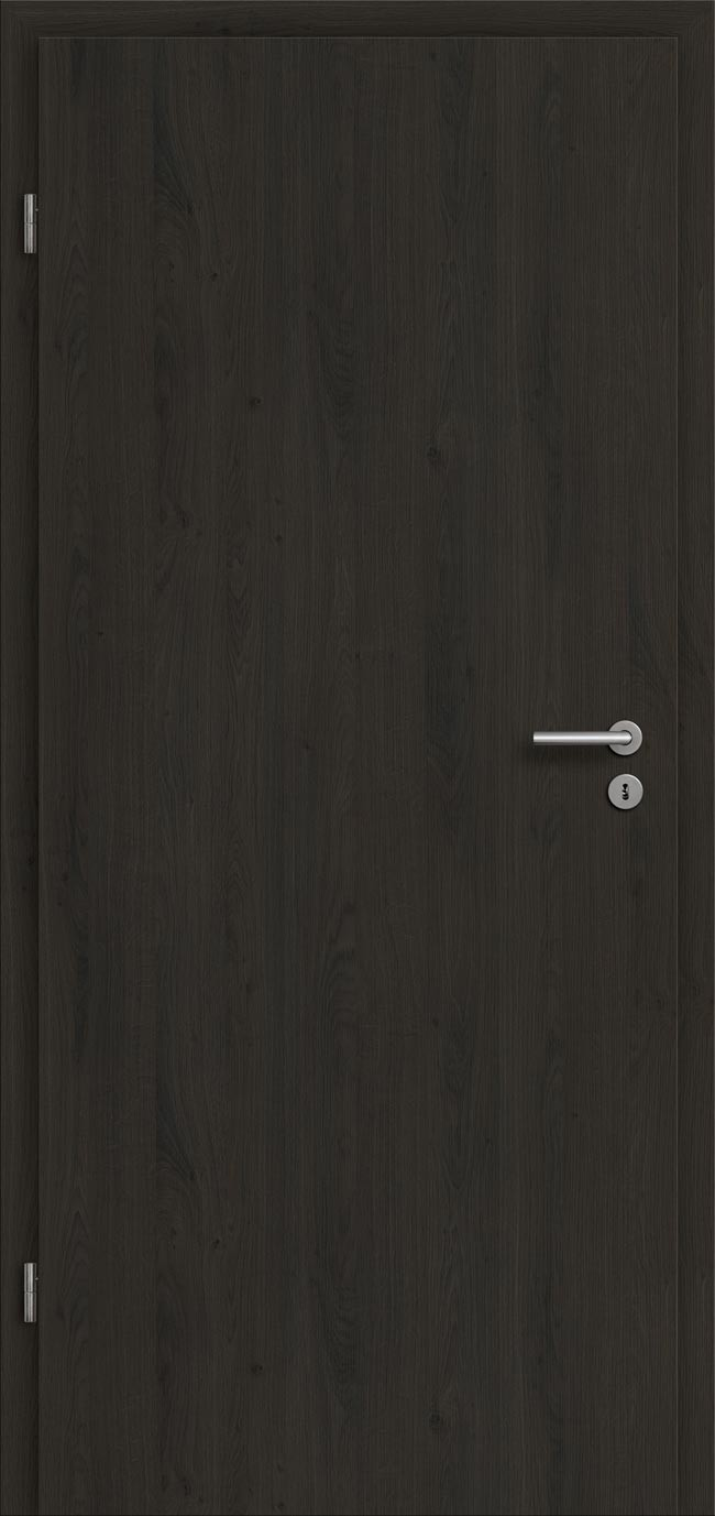 wohnungseingangst r schallschutzt r eiche dunkel g nstig kaufen t renfuxx. Black Bedroom Furniture Sets. Home Design Ideas