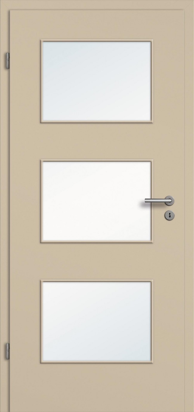 cpl t r mit glasausschnitt g nstig mit zarge t renfuxx. Black Bedroom Furniture Sets. Home Design Ideas