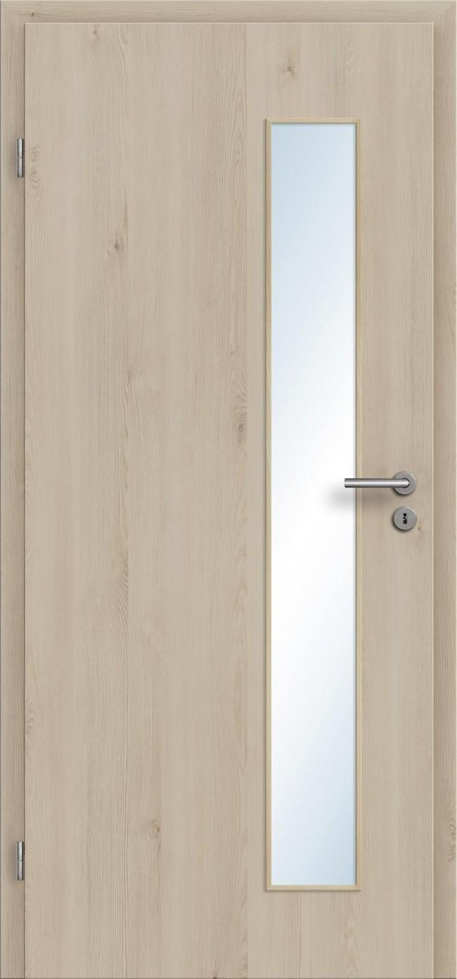Preiswerte Innentüren preiswerte cpl-innentüren holzdesign mit lichtausschnitt und zargen