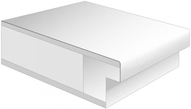 eiche cpl t ren roheffekt quer zargen mit lichtausschnitt g nstig kaufen t renfuxx. Black Bedroom Furniture Sets. Home Design Ideas