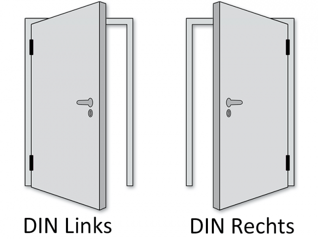 Rohbaumaße türen  Restposten CPL Tür Akazie Steingrau Türblatt + Zarge + Türgriff