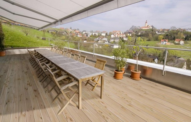 douglasie unterkonstruktion f r terrasse balkon g nstig kaufen holz vom t renfuxx. Black Bedroom Furniture Sets. Home Design Ideas