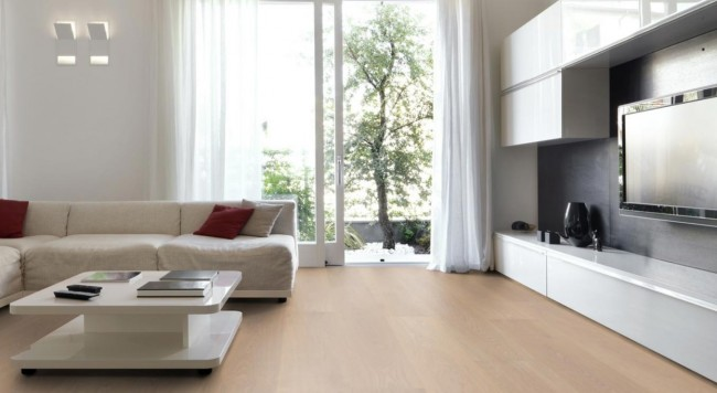 landhausdiele eiche xl geb rstet wei ge lt g nstig kaufen t renfuxx parkett. Black Bedroom Furniture Sets. Home Design Ideas