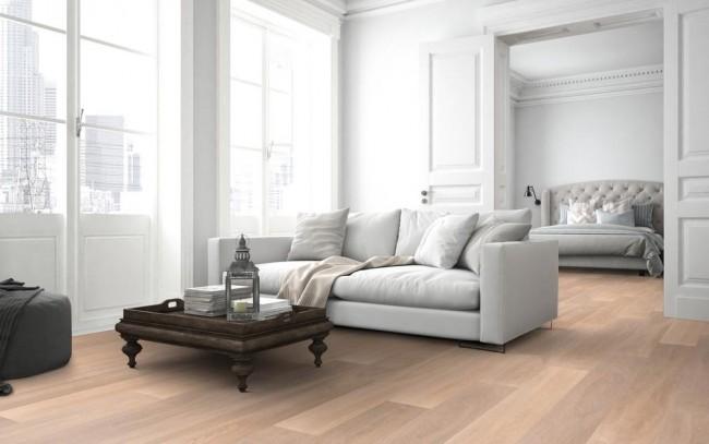 eiche parkett landhausdielen natur geb rstet wei ge lt g nstig kaufen t renfuxx. Black Bedroom Furniture Sets. Home Design Ideas