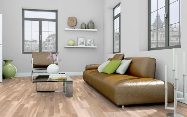 g nstiges parkett eiche schiffsboden wei ge lt t. Black Bedroom Furniture Sets. Home Design Ideas
