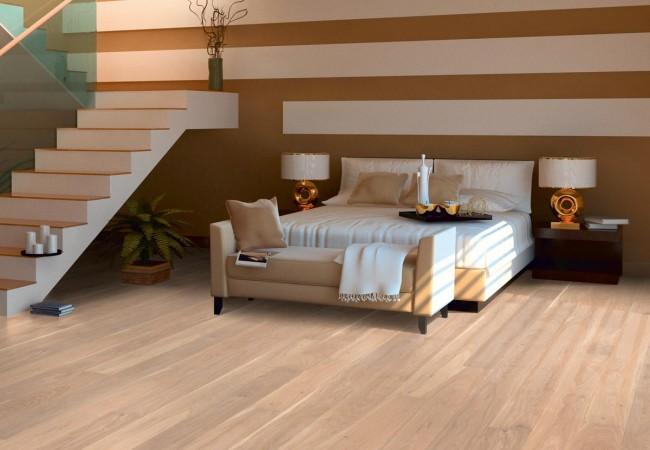 hain parkett eiche wei ge lt geb rstet 15mm landhausdiele. Black Bedroom Furniture Sets. Home Design Ideas