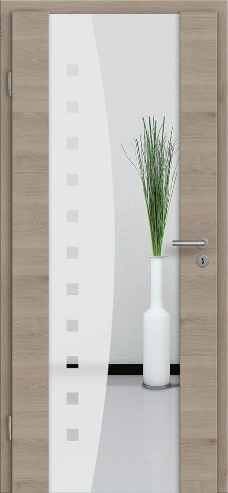 innent r cpl holz glast r pinie silbergrau g nstig t renfuxx. Black Bedroom Furniture Sets. Home Design Ideas