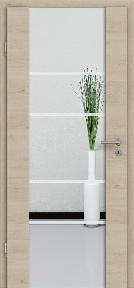 holzglast r mit glasmotiv und cpl zimmert ren vom t renfuxx. Black Bedroom Furniture Sets. Home Design Ideas