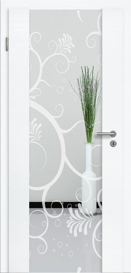 t ren mit lichtausschnitt cpl t r mit glaseinsatz t renfuxx. Black Bedroom Furniture Sets. Home Design Ideas