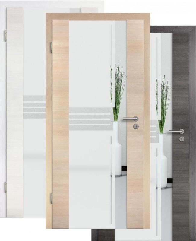 zimmert ren mit glasausschnitt cpl holz glast r. Black Bedroom Furniture Sets. Home Design Ideas