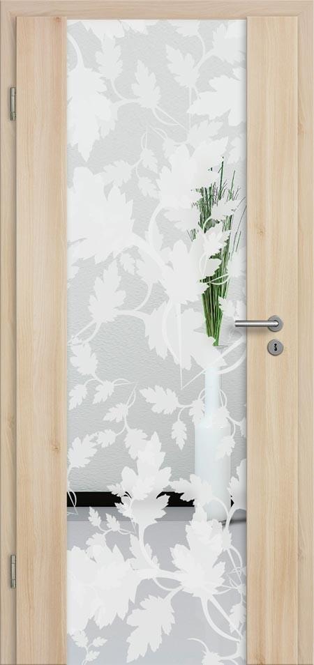 CPL Türen aus Holz mit Glas günstig kaufen - Türenfuxx