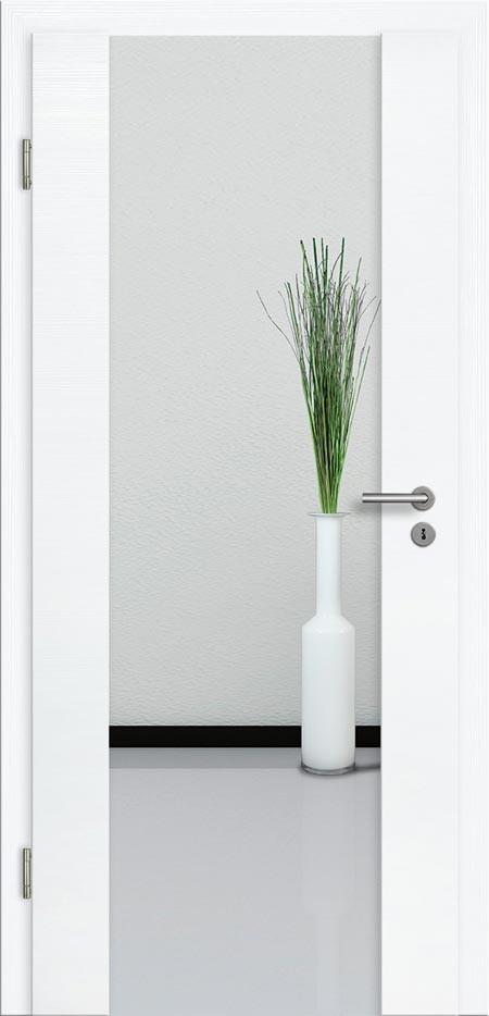 holzglast r cpl geb rstet eiche wei polar klarglas t ren g nstig online kaufen t renfuxx de. Black Bedroom Furniture Sets. Home Design Ideas