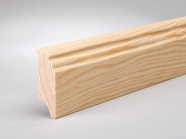 sockelleisten berliner profil 60 x 20 mm holz g nstig kaufen t renfuxx. Black Bedroom Furniture Sets. Home Design Ideas