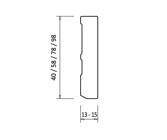 Sockelleiste Weiss Lackiert Kiefer Massivholz Ral 9016 Oberkante Gerade 2 Mm Rundung Fixlange 2 4 M