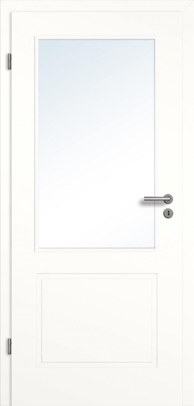 innent ren wei lichtausschnitt mit zarge online bestellen t renfuxx. Black Bedroom Furniture Sets. Home Design Ideas