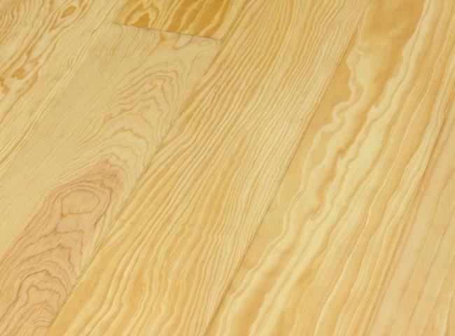 Pitch Pine Dielen Massivholz 20 mm x 135 mm / Längen 2750 - 6000 mm  (Langdiele, Sortierung Eleganz)