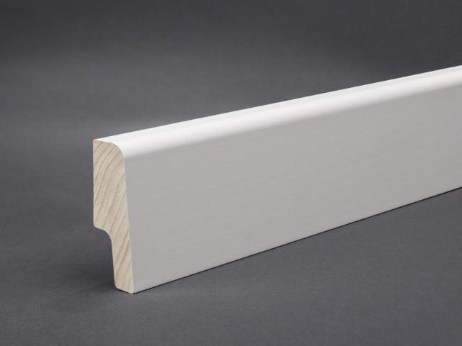 preisg nstige sockelleiste oberkante abgerundet wei 60 mm. Black Bedroom Furniture Sets. Home Design Ideas