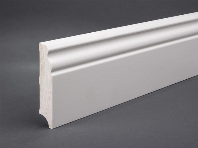 sockelleiste berliner profil 100 x 20 mm massivholz g nstig kaufen t renfuxx. Black Bedroom Furniture Sets. Home Design Ideas