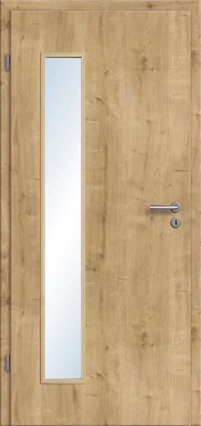 Innentüren mit glas eiche  Moderne Türen mit Lichtausschnitt aus Glas - ideal auch für ...