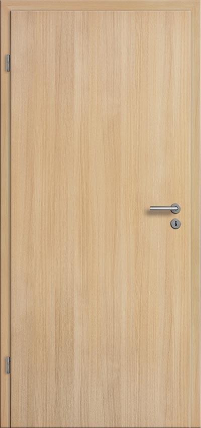 Bevorzugt Zimmertür Innentür Eiche hell CPL mit Rundkante - Türenfuxx DU83