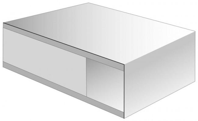 zimmert r wei lack r hrenspan eckige kante t r mit ohne glas t renfuxx de. Black Bedroom Furniture Sets. Home Design Ideas