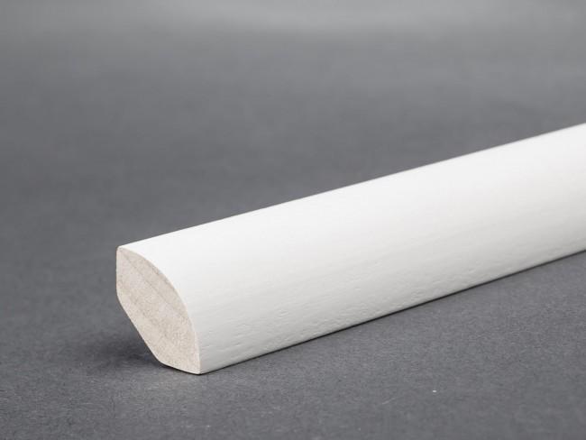 Viertelstab Bastelleiste Abschlussleiste aus Kiefer-Massivholz 2400x11x11mm