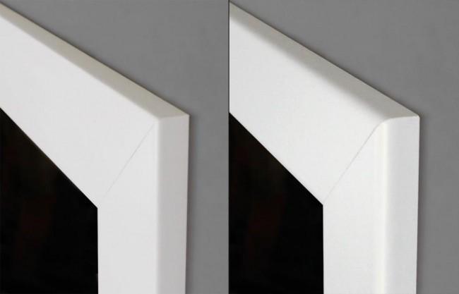 wei e zimmert r mit zarge und lichtausschnitt g nstig. Black Bedroom Furniture Sets. Home Design Ideas