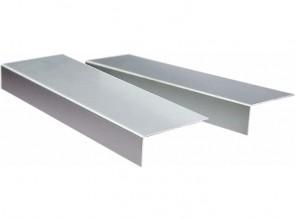 Aluminium Abschlusswinkel eloxiert