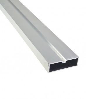 Alu Unterkonstruktion 20 mm x 60 mm | 4 Meter lang (geringe Aufbauhöhe)