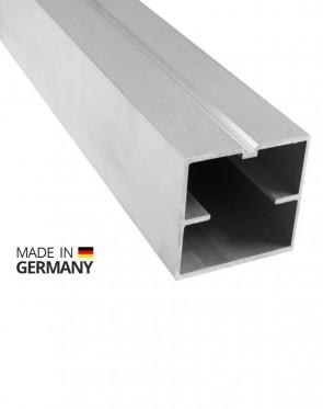 Alu Unterkonstruktion Terrasse 60 mm x 60 mm | 4 Meter lang