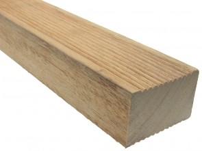 Bangkirai Holz Unterkonstruktion 45 mm x 70 mm