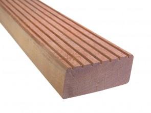 Bongossi Holz Terrassendiele 95 mm x 190 mm | grob genutet