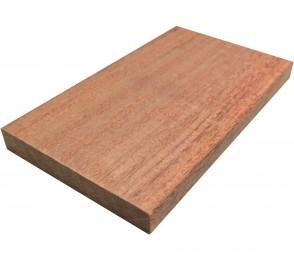Muster Cumaru Dielen Holz glatt 21 mm x 145 mm (Rosa Prime)