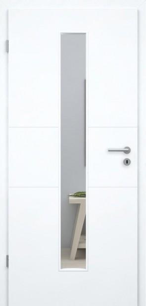 Superweiße Designtür / Roma GA3 008M