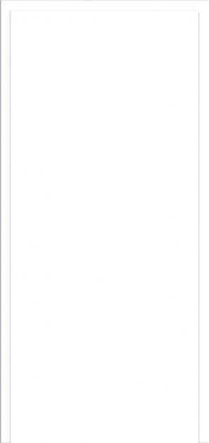 Durchgangszarge Uni Weiß