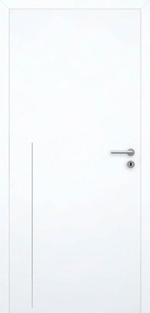 Tür Superweiß bündig | Chrom L8