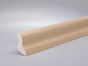 Sockelleiste furnierte Leiste Ahorn kanadisch (Profil 40mm x 22mm)