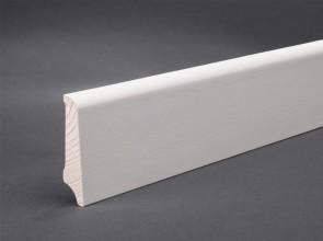 Furnierleisten weiß lackiert (60 x 15 x 2500 mm)
